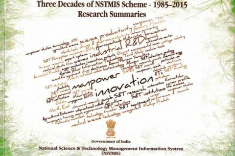 Three Decades of NSTMIS Scheme – 1985-2015: Research Summaries